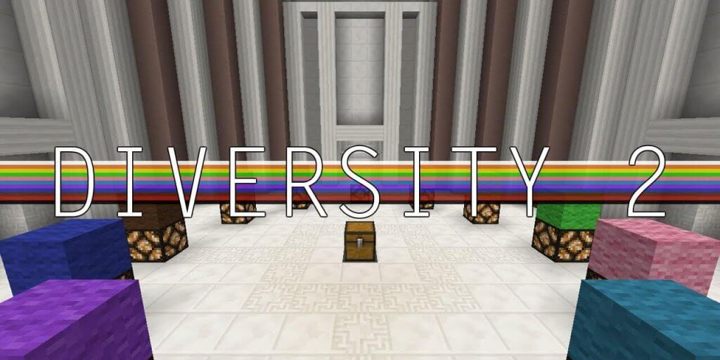 Map Minecraft Diversity 2