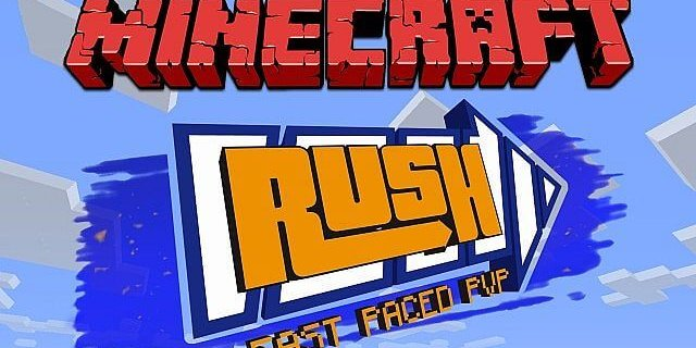 Map Minecraft Rush Bedwars
