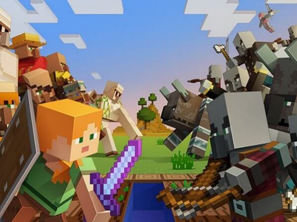 Minecraft 1.14 Village et Pillage