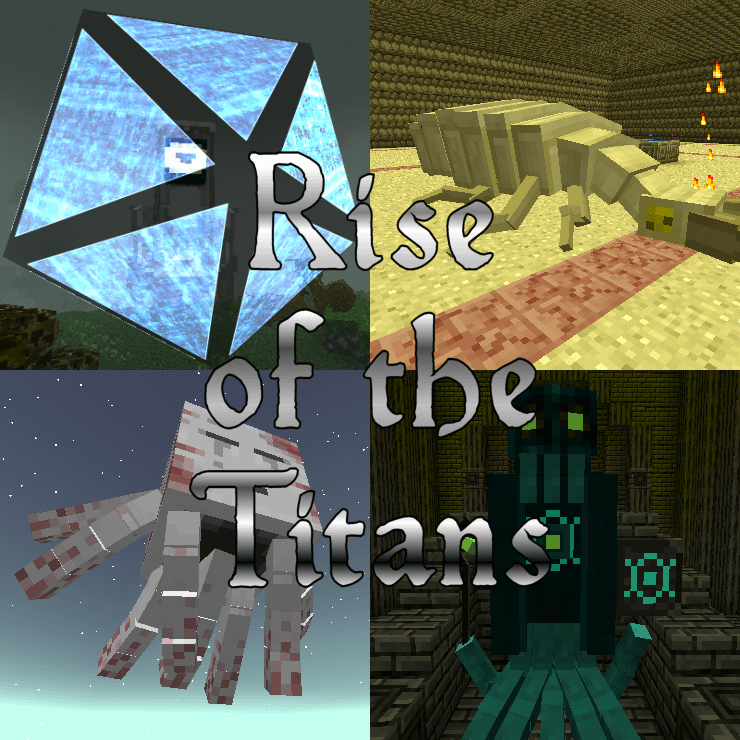 Modpack Rise of the Titans