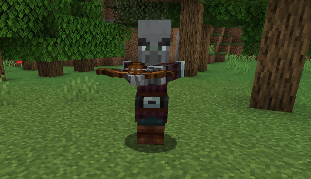 Minecraft 1.14 - Arbalète
