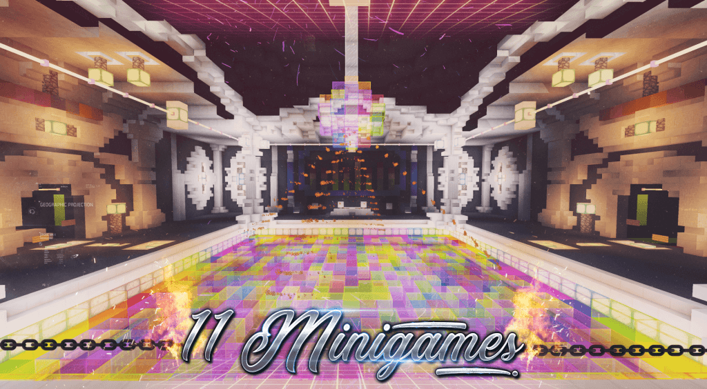 Map Mini-Jeux Dance Floor Screenshot 1