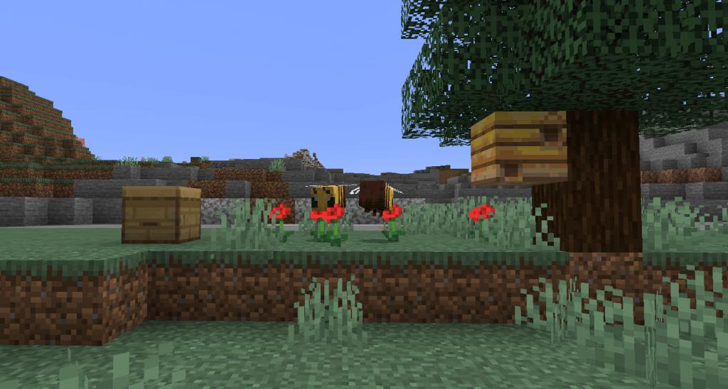 Minecraft 1.15 Abeilles
