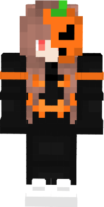 Skin Citrouille Fille