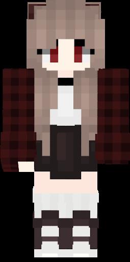 Skin Vampire Fille