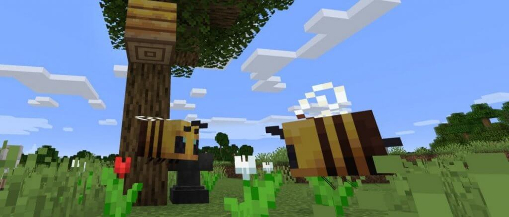 Abeilles Minecraft