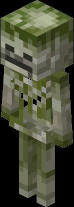 Squelette Mousseux Minecraft Dungeons