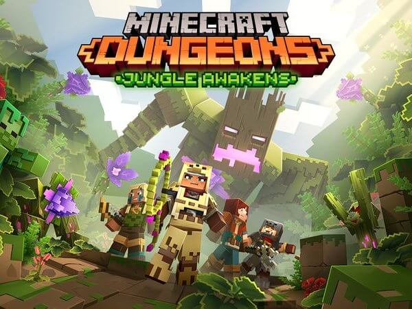 Jungle Awakens DLC Minecraft Dungeons