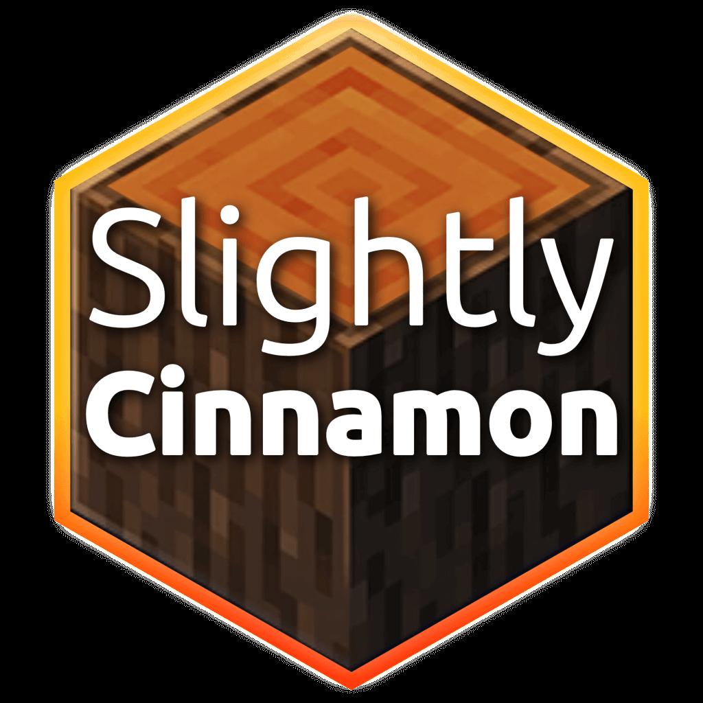Slightly Cinnamon Flavoured